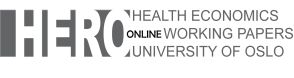 Health Economics Research Programme, University of Oslo